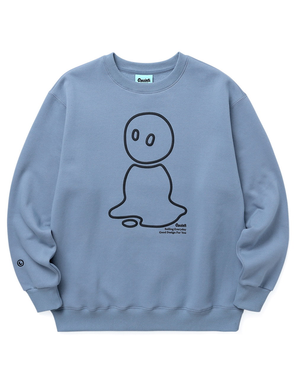 MELT OUTLINE LOGO SWEATSHIRT[BLUE]