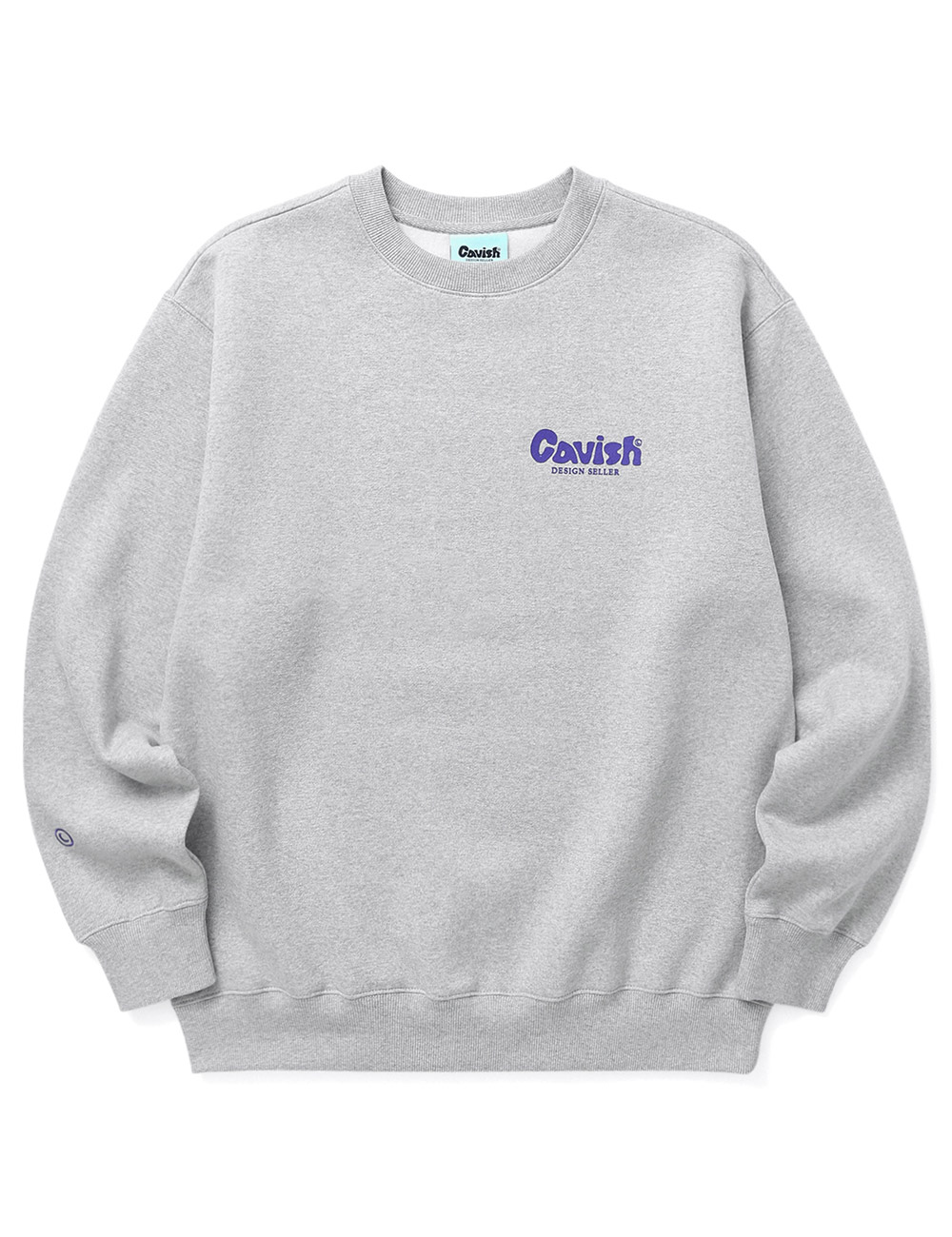 BASIC LOGO SWEATSHIRT[GREY]