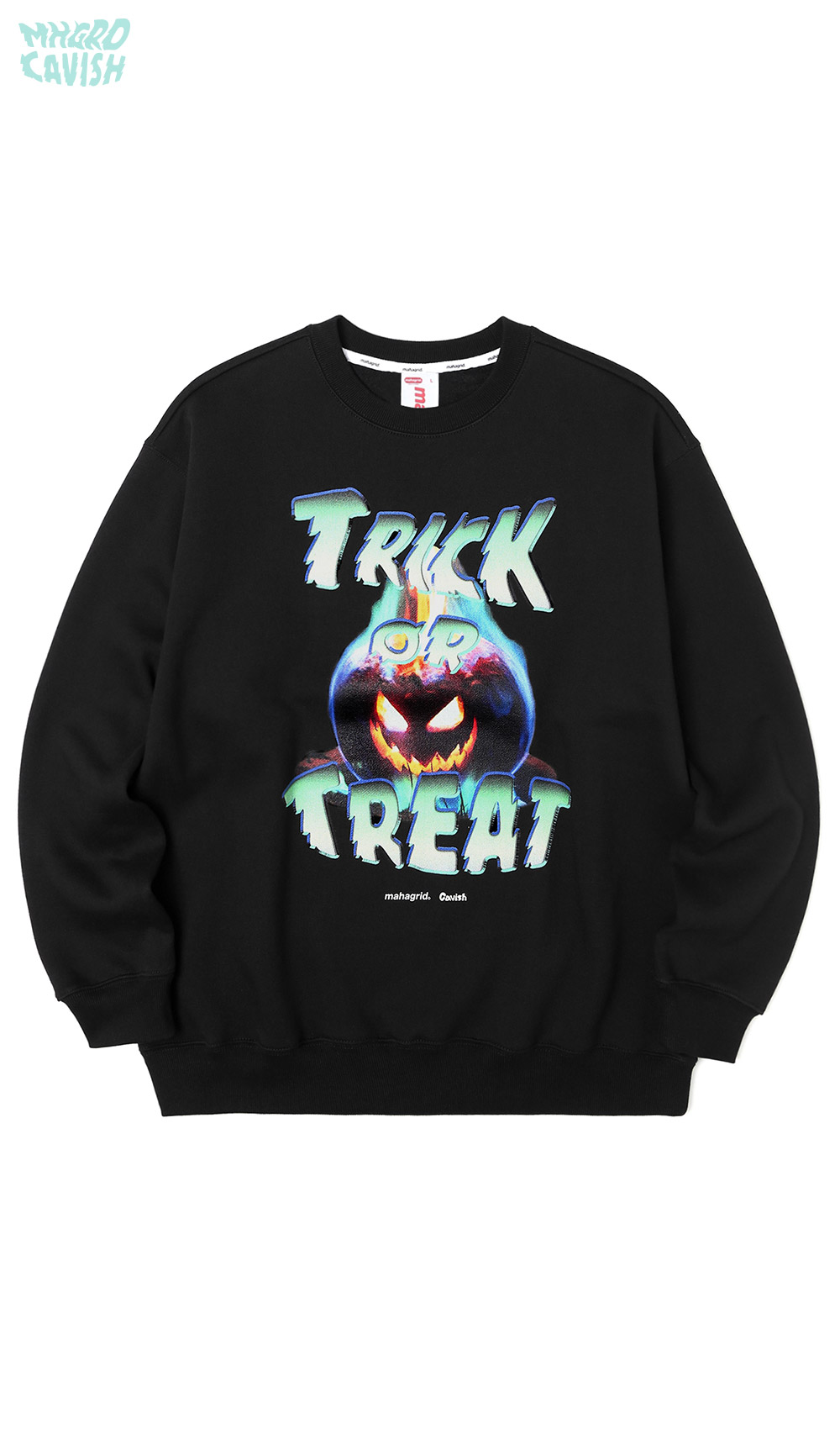 PUMPKIN SWEATSHIRT[BLACK]