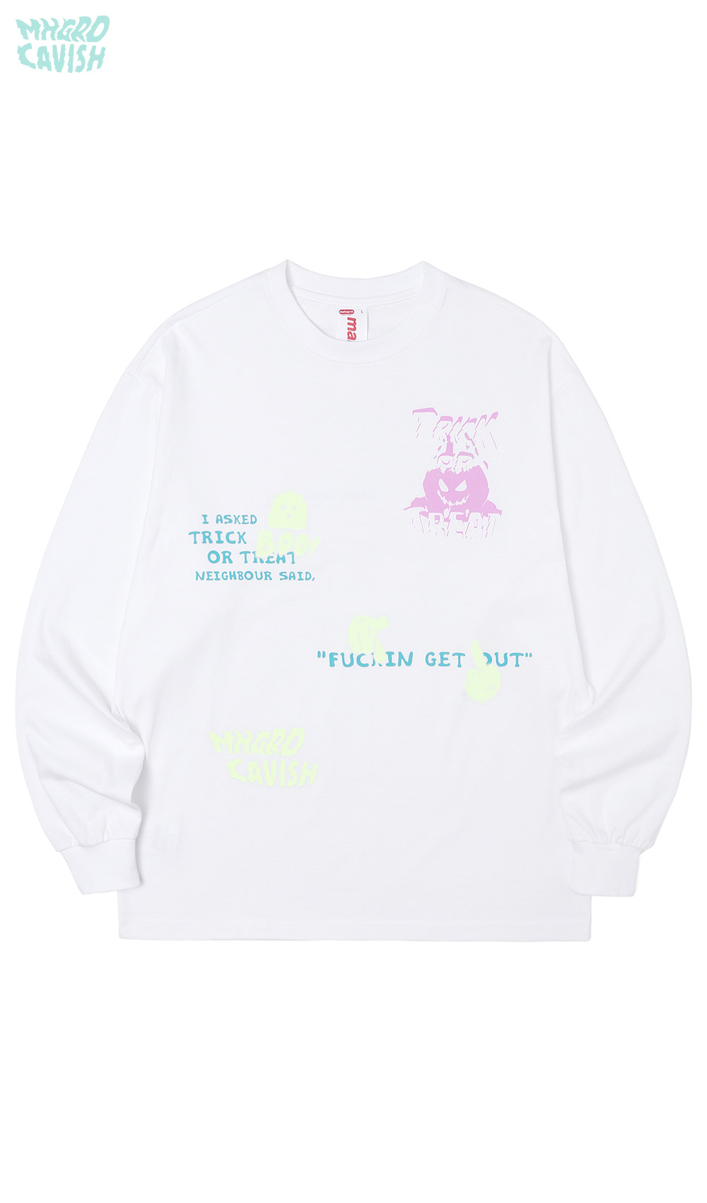 NEIGHBOUR LS TEE[WHITE]