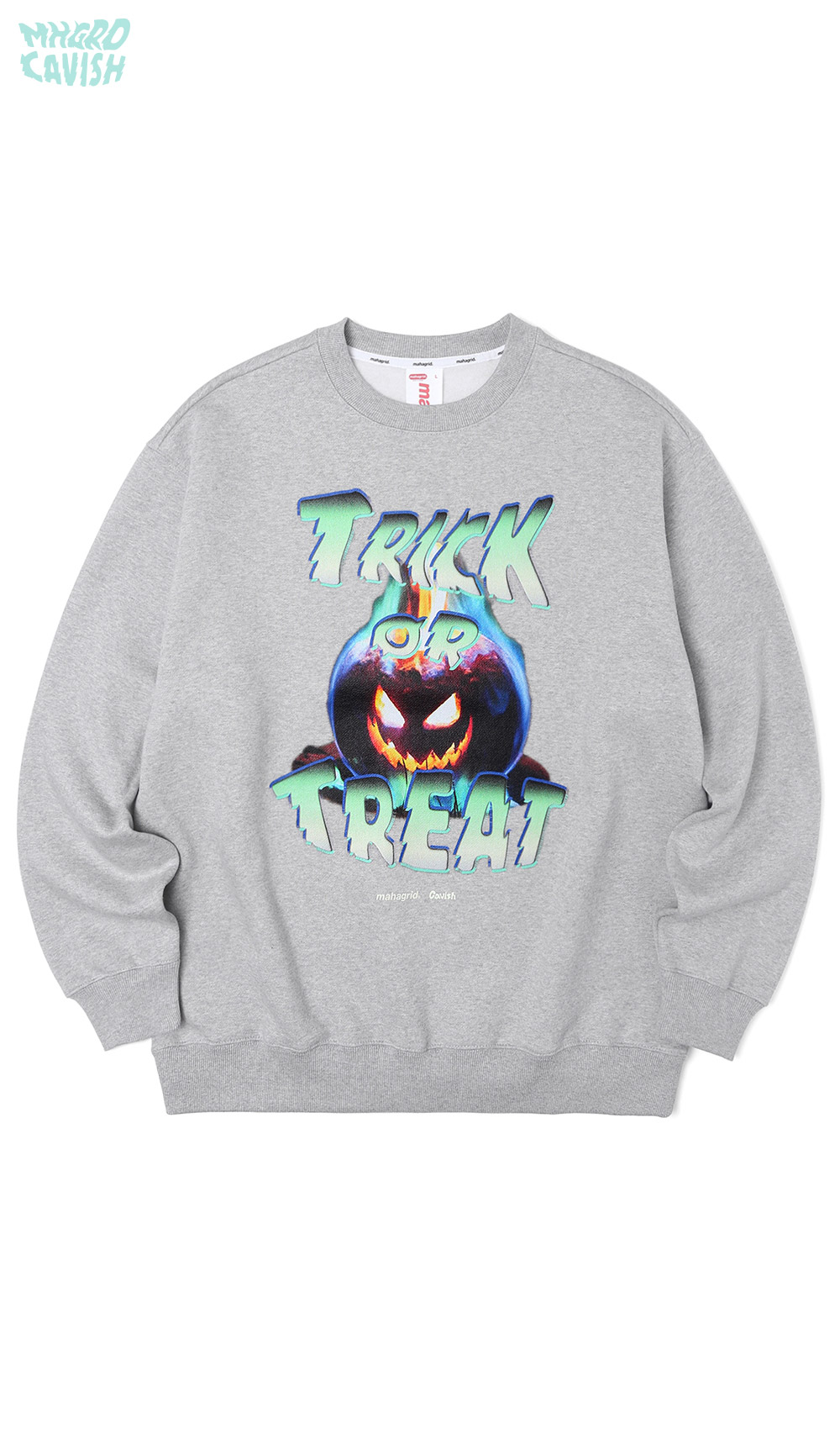 PUMPKIN SWEATSHIRT[GREY]