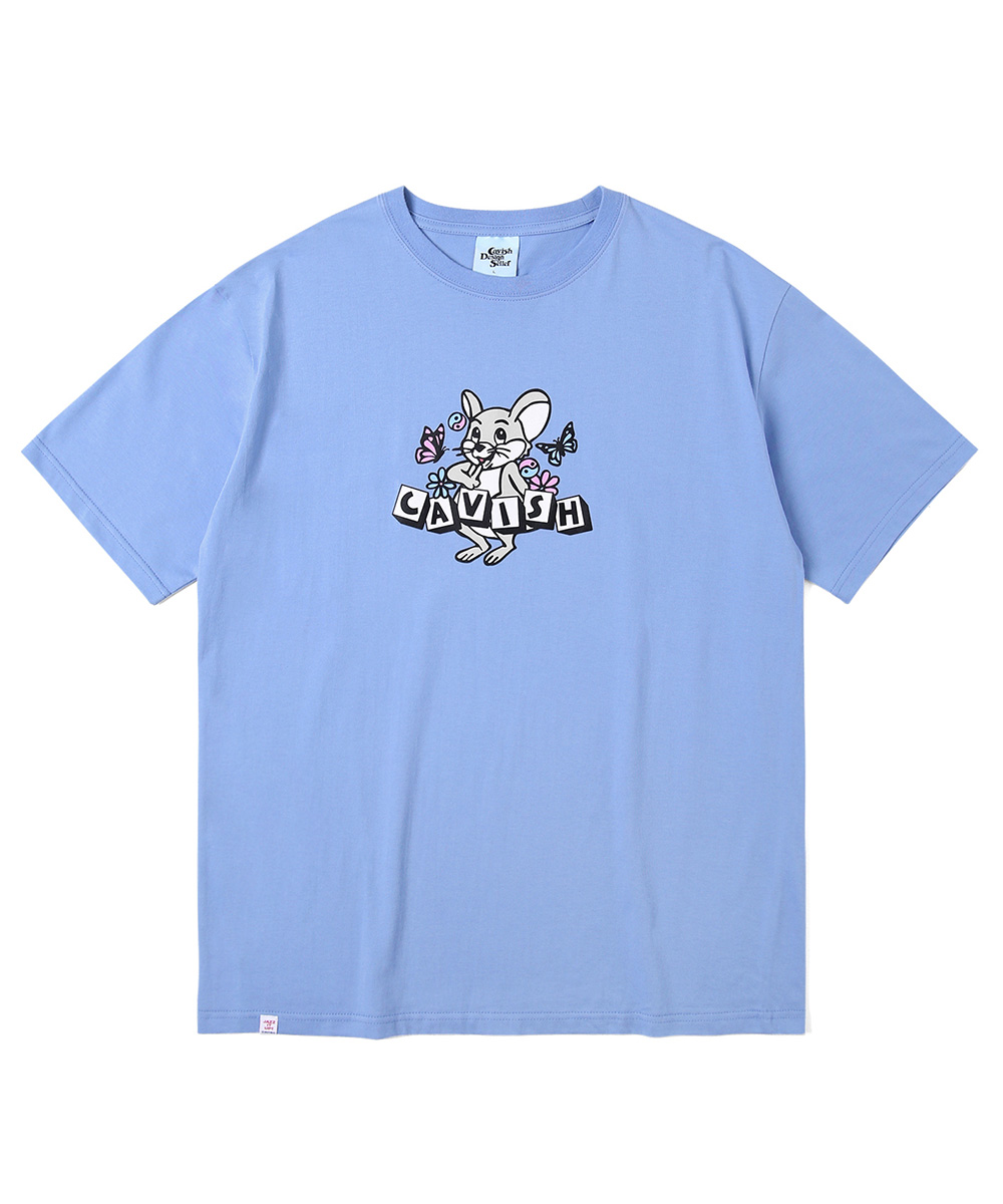 DICE RAT SS TEE[BLUE]