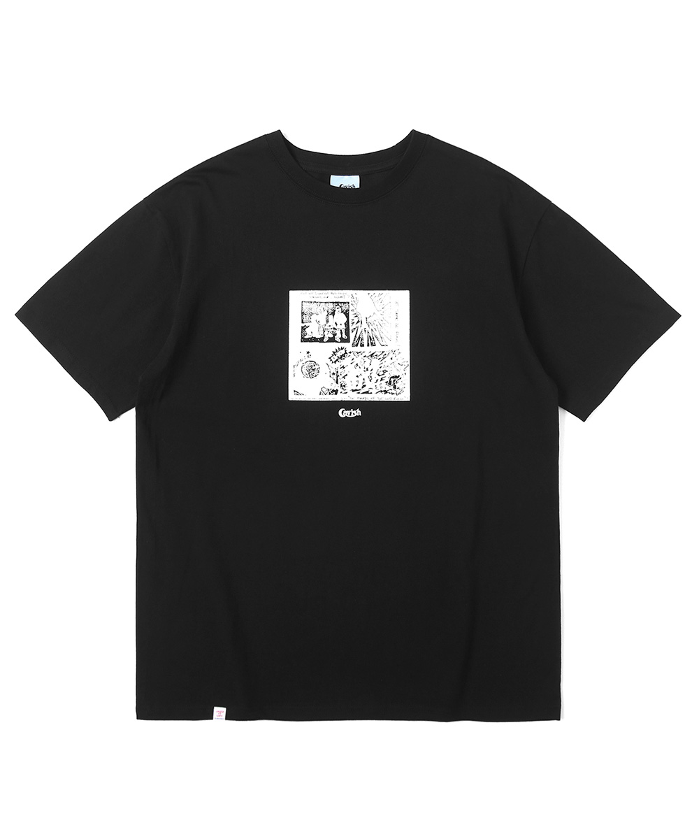 FUNK CARTOON SS TEE[BLACK]