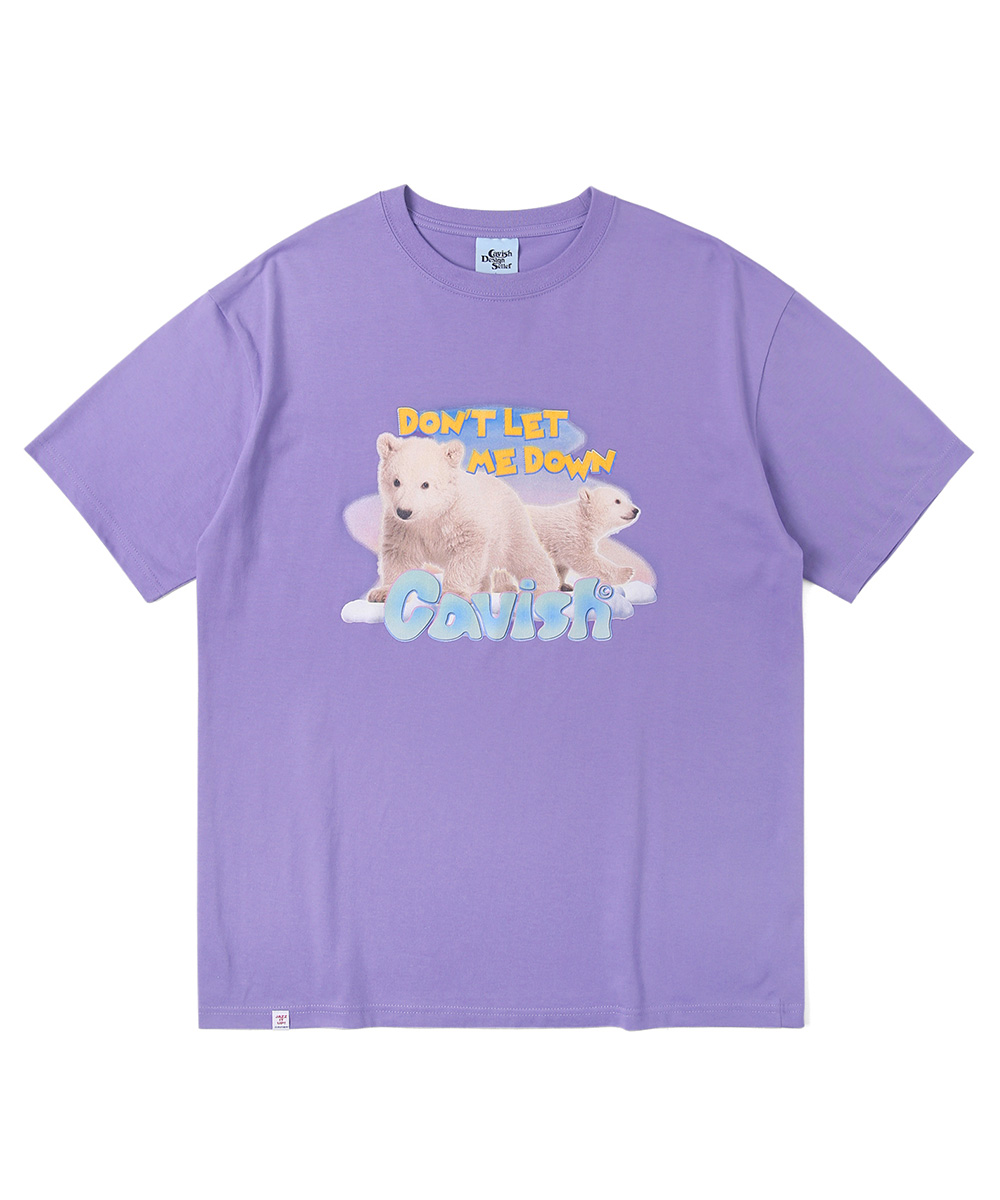 POLAR BEAR SS TEE[PURPLE]